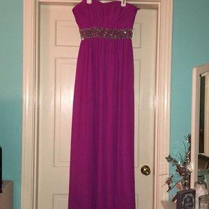 Fusia Prom Dress!